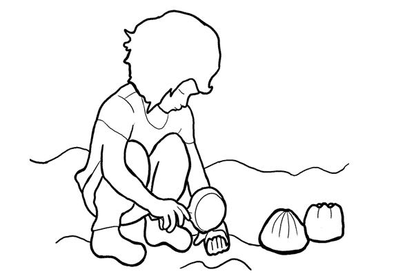 Позы для съемки детей 12