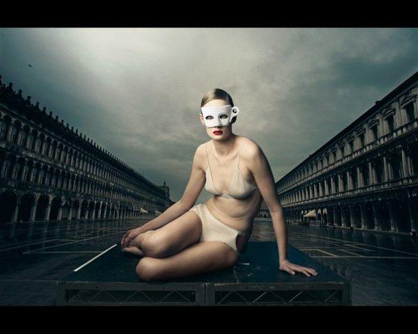фотографии Энни Лейбовиц – Из серии Lavazza 2009.