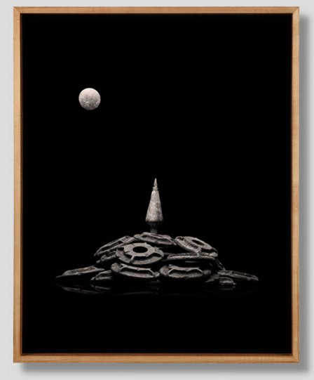 Peter Honig «Moonrise Over Lone Pine Mountain»