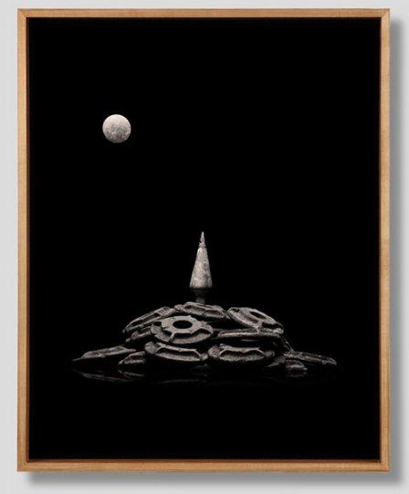 Peter Honig «Moonrise Over Lone Pine Mountain»