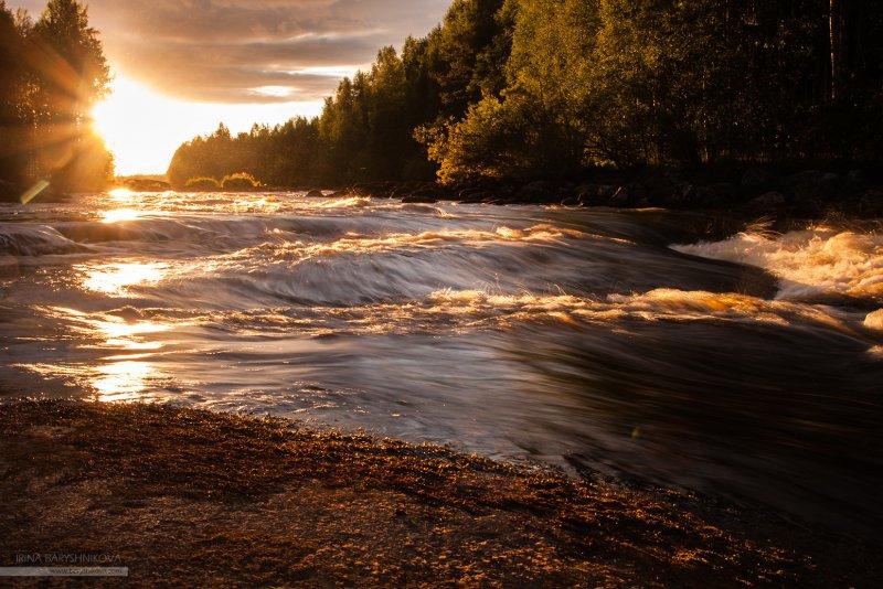 река Шуя, порог Грива, Карелия