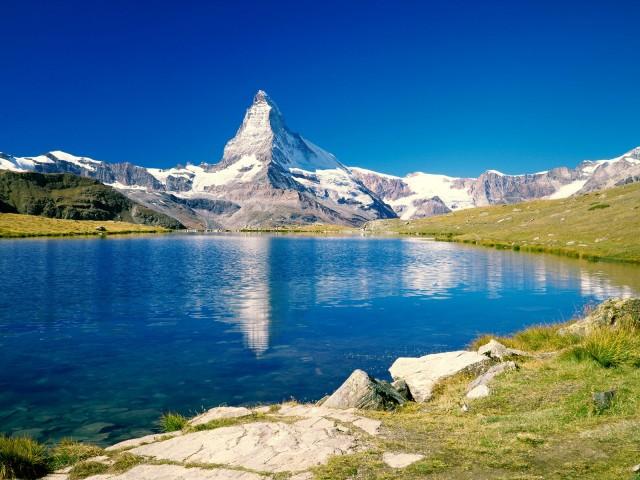 фото гор 19 – горы Маттахорн, Швейцарские альпы, Швейцария