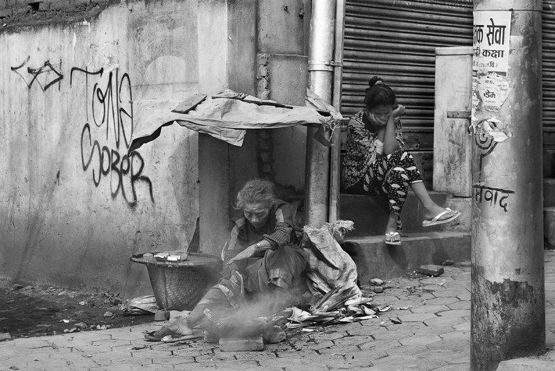 Непал. Землетрясение. Без крова. Автор фото: Павел Байдалов