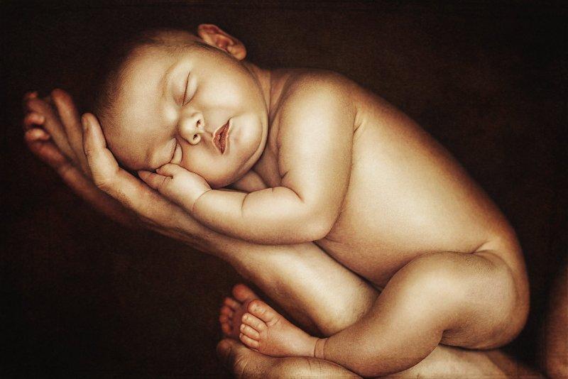 Автор: Наталия Полибина – фото младенцев