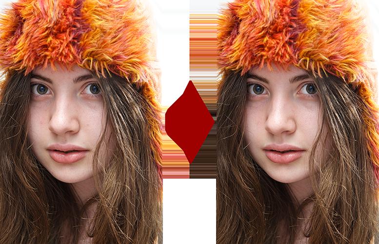 основы ретуши лица 3
