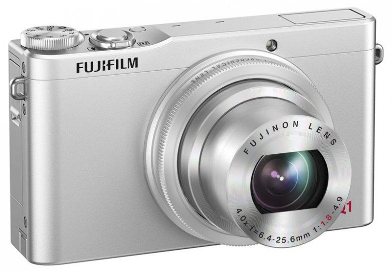 Обзор камеры Fujifilm XQ1 1