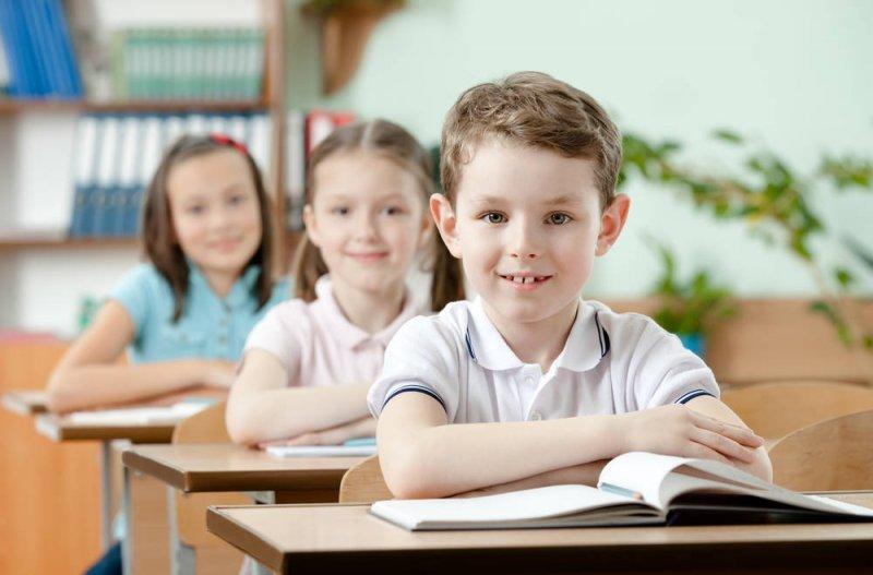 Фотография детей в классе