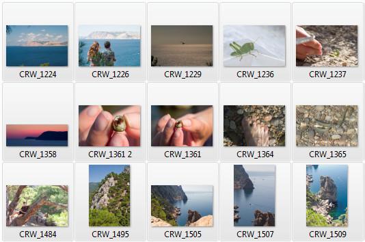 Архив фото. Как сделать мозаику из фотографии?