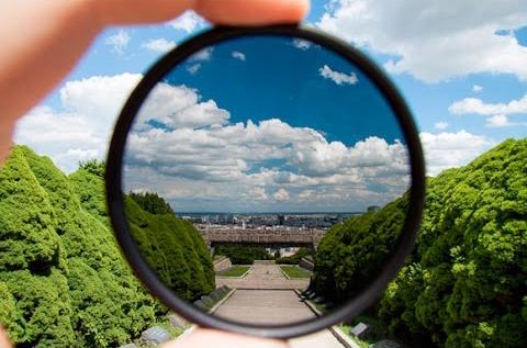 Как фотографировать стекло? Поляризационный фильтр.