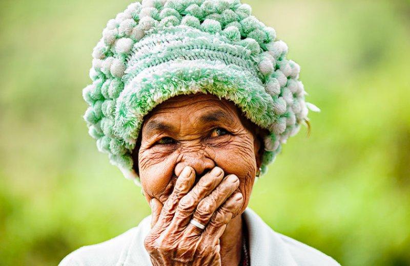 """Глаза людей и """"скрытая"""" улыбка в фотографиях французского фотографа Рехана - №25"""