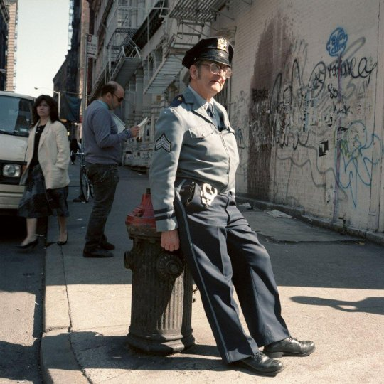 Нью-Йорк 1980-х годов в объективе Джанет Делани - №11