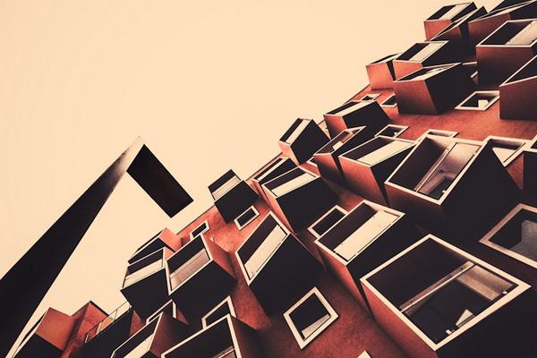 Совершенство геометрических форм от Клауса Питера-Кубика - №11