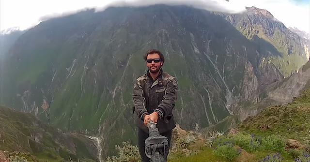 Как сфотографировать себя с помощью GoPro?