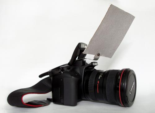 Отражатель вспышки своими руками фото