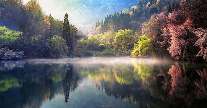 Зеркальные пейзажи Чже Вун Ю - №9