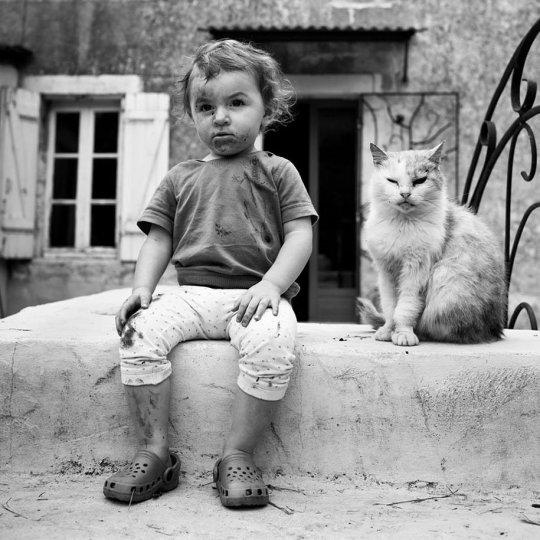 Семейные черно-белые фотографии Алена Лябуэля - №16