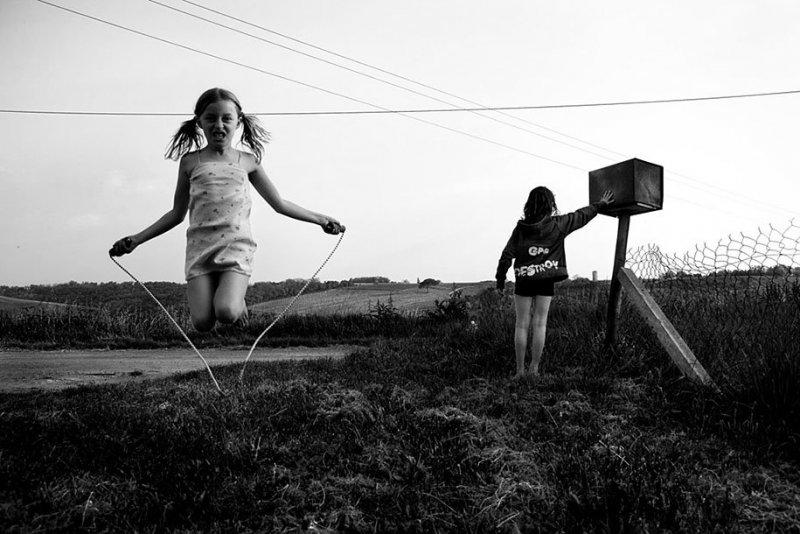 Семейные черно-белые фотографии Алена Лябуэля - №12