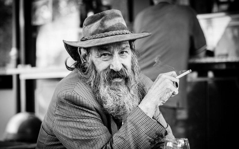 Черно-белая магия уличных портретов Джулио Магнифико - №6