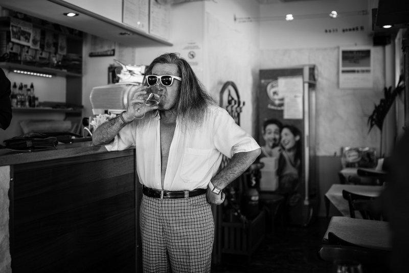 Черно-белая магия уличных портретов Джулио Магнифико - №15