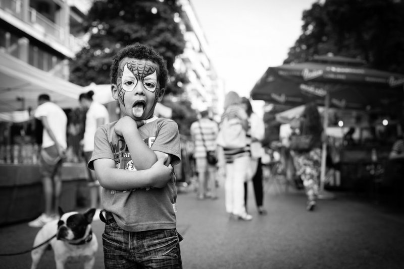 Черно-белая магия уличных портретов Джулио Магнифико - №19