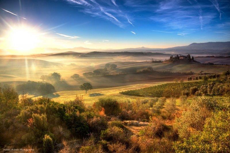 Страна грез в пейзажных фотографиях Аднана Бубало - №10
