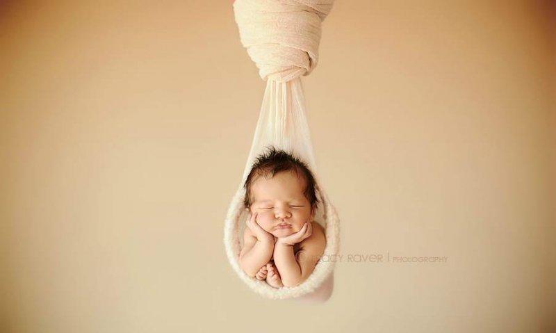 Спящие младенцы в фотографиях Трейси Рейвер - №4