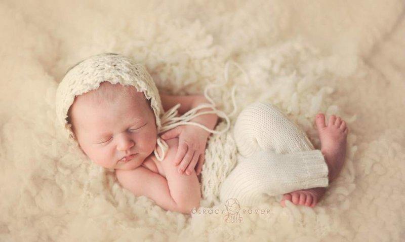 Спящие младенцы в фотографиях Трейси Рейвер - №24
