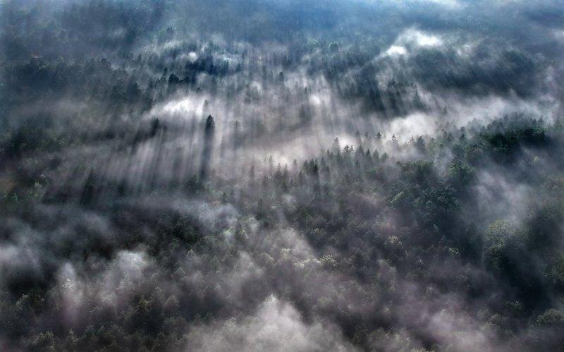 Сказочные фотопейзажи аэрофотографа Матяжа Катера - №8