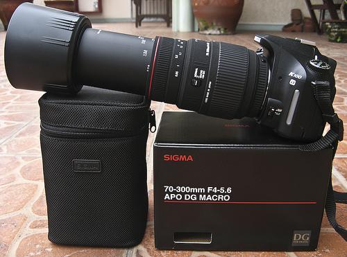 Режим макросъемки - SIGMA AF 70-300mm f/4-5.6 APO