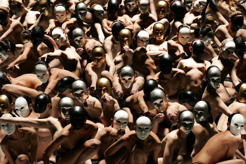 Движение человеческих тел в фотографиях Claudia Rogge - №9