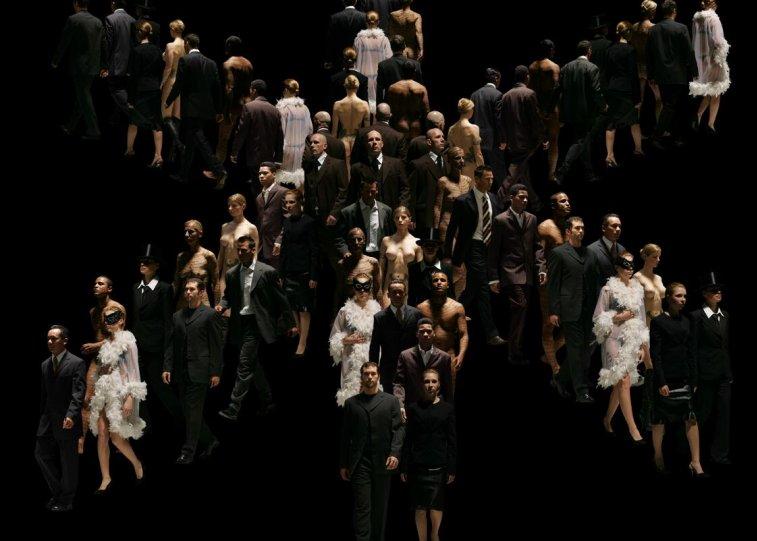 Движение человеческих тел в фотографиях Claudia Rogge - №15