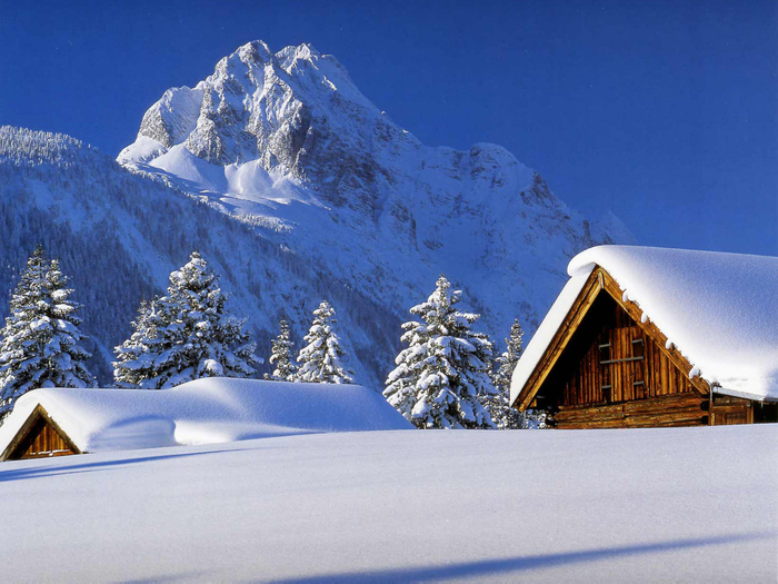Фото зимний пейзаж