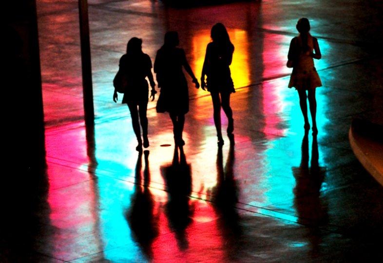 Мир теней и силуэтов фотографии Ти Джея Скотта - №21