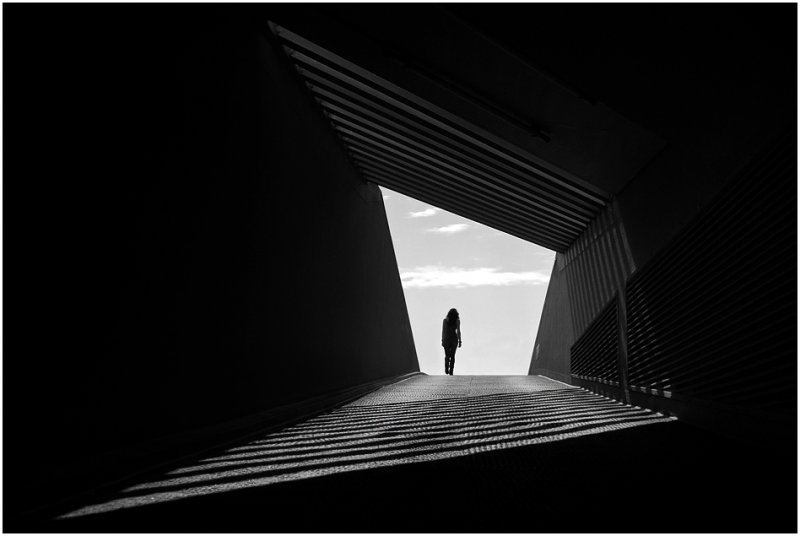 Черно-белое спокойствие симметрии Кая Зиля - №2