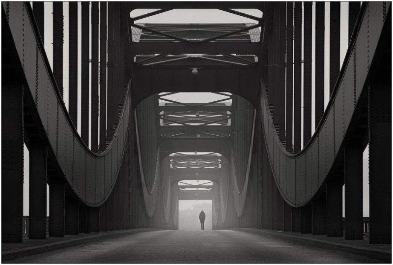 Черно-белое спокойствие симметрии Кая Зиля - №10