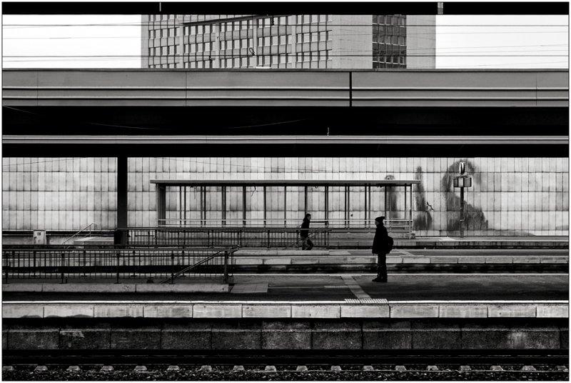 Черно-белое спокойствие симметрии Кая Зиля - №30
