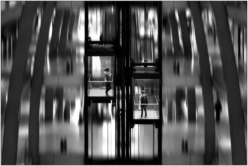 Черно-белое спокойствие симметрии Кая Зиля - №34