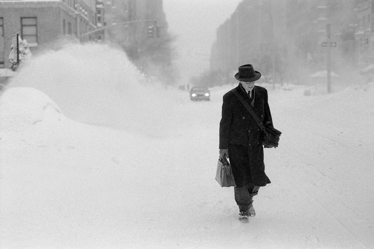 Черно-белый Нью-Йорк Дэйва Бекермана - №10