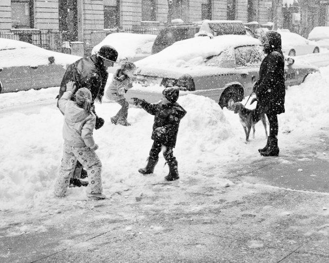 Черно-белый Нью-Йорк Дэйва Бекермана - №4