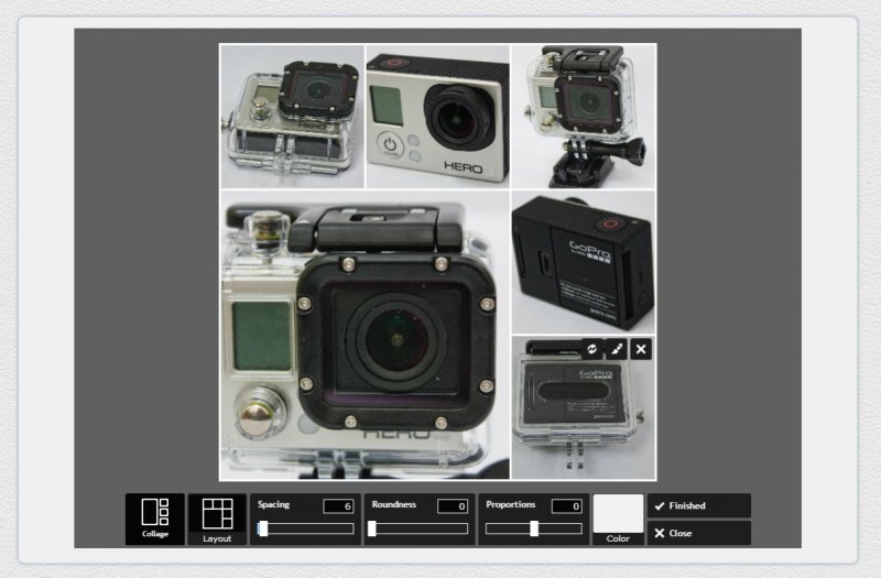 Как сделать несколько фото в одной?