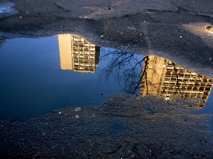 «Архитектурные лужи» Мадлен Диганги - №14