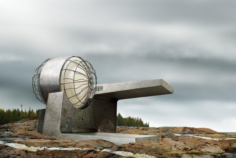 Архитектурные фантазии из домашних предметов - №2