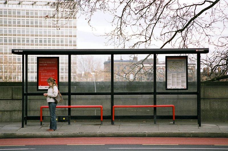 Автобусные остановки фотографа Richard Hooker - №2