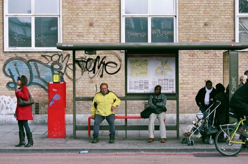 Автобусные остановки фотографа Richard Hooker - №6