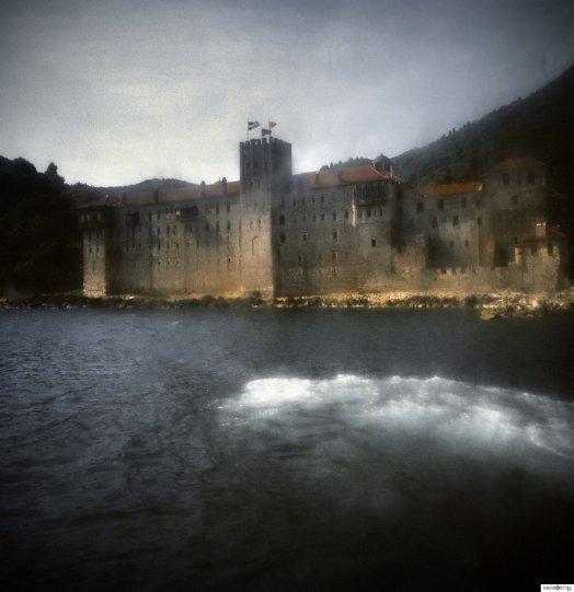 Невидимый мир Афона в фотографиях Стратоса Калафатиса - №2