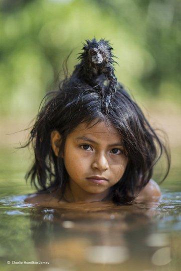Автор фото: Чарли Гамильтон Джеймс. «Дети тропического леса»