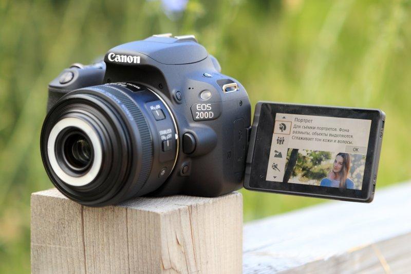 новое меню камеры