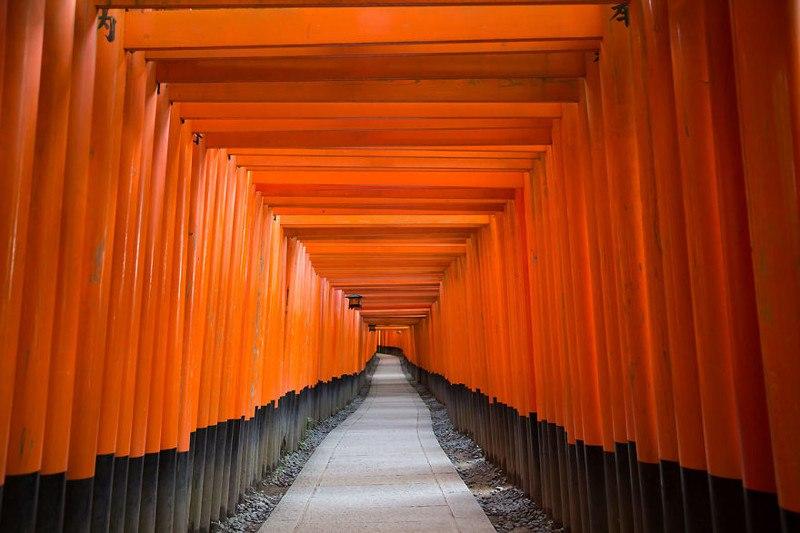 Святилище Фусими Инари, Япония