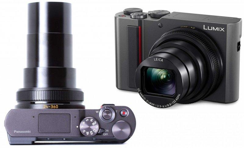 Panasonic LUMIX TZ200 с объективом в выдвинутом положении