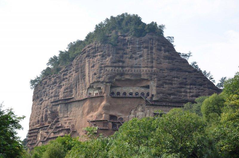 Красивые пейзажи китайской провинции Ганьсу - №4
